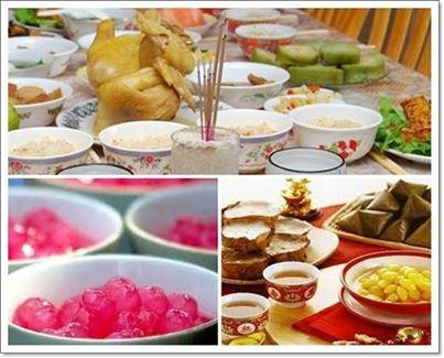 ความหมายอาหารไหว้เจ้า ของไหว้เจ้าตรุษจีน